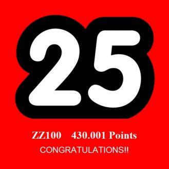 ZZ100 DR Bonus Kicker!!
